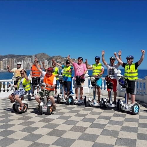 Segway Benidorm Party