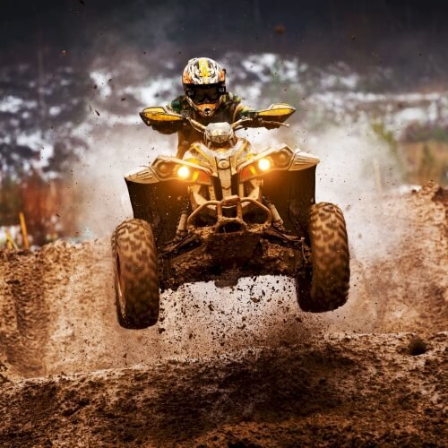 Stag Quad Bike Extreme Activities