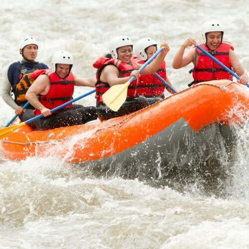 Hen White Water Rafting Activities