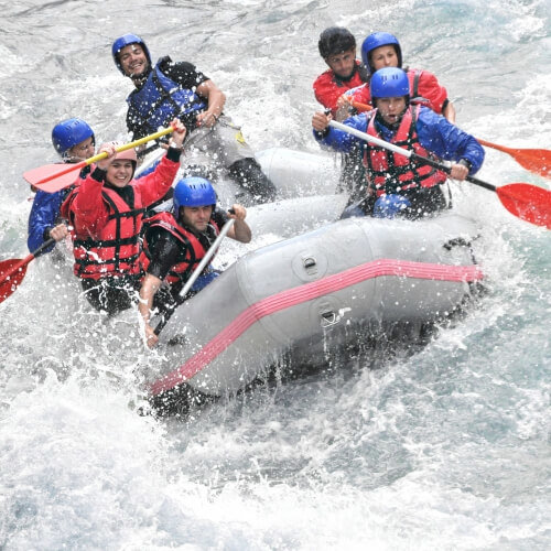 Birthday White Water Rafting Activities