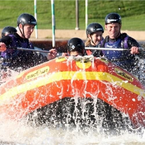 Party White Water Rafting Activities