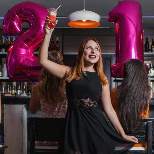 Groups Activities for 21st Birthday Parties