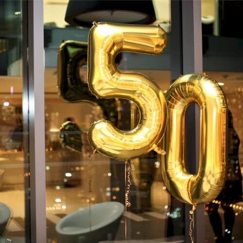 50th Birthday Celebrations - let the fun begin
