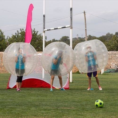 Kids Bubble Football