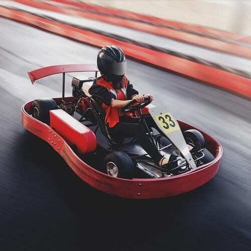 Madrid Stag Indoor Karting Fiesta Package Deal