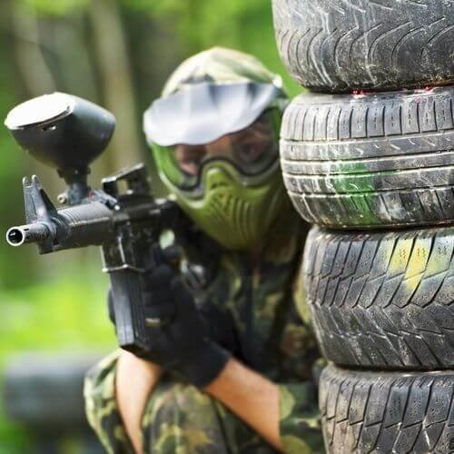 Edinburgh Stag Paintball and Vodka Girls Package Deal