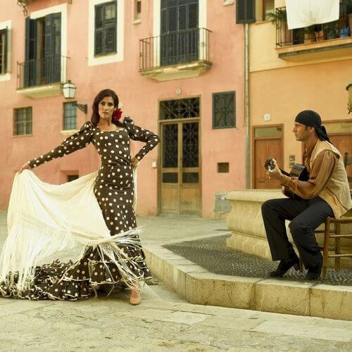 Madrid Hen Flamenco Girls Package Deal