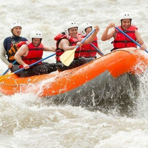Newcastle Birthday PREMIUM - White Water Rafting Package Deal