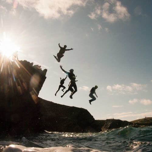Newquay Stag Cliff Hanger Package Deal
