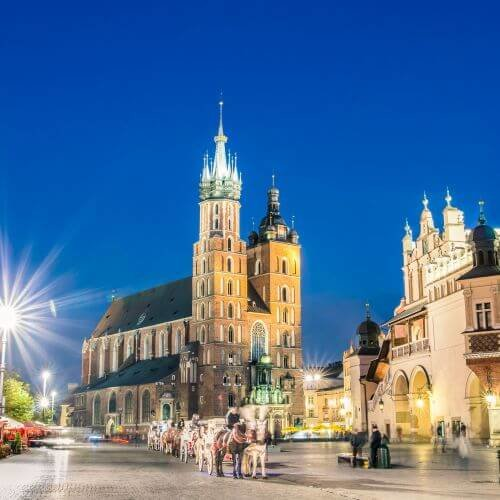 Krakow Hen Package Destinations