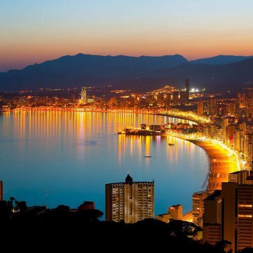 Benidorm  Package Destinations