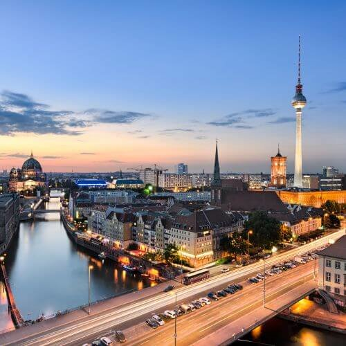 Berlin Hen Package Destinations