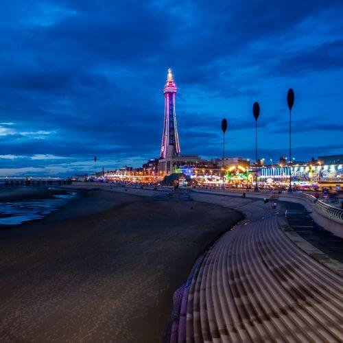 Blackpool  Package Destinations
