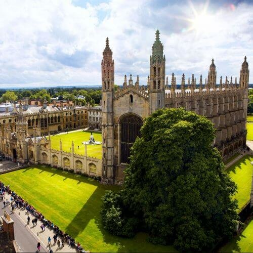 Cambridge  Package Destinations