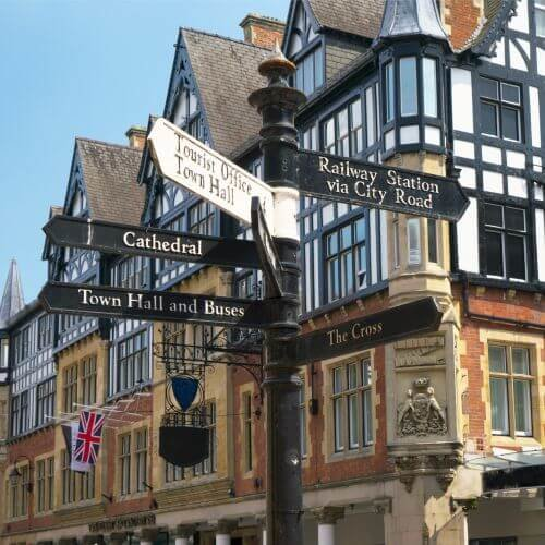 Chester  Package Destinations