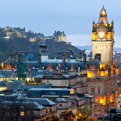 Edinburgh Hen Package Destinations