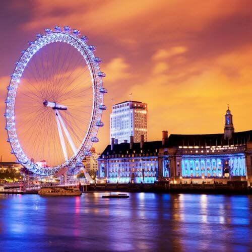 London Hen Package Destinations