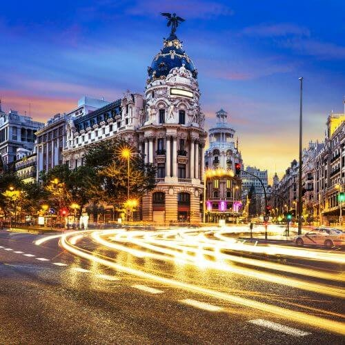 Madrid Hen Package Destinations
