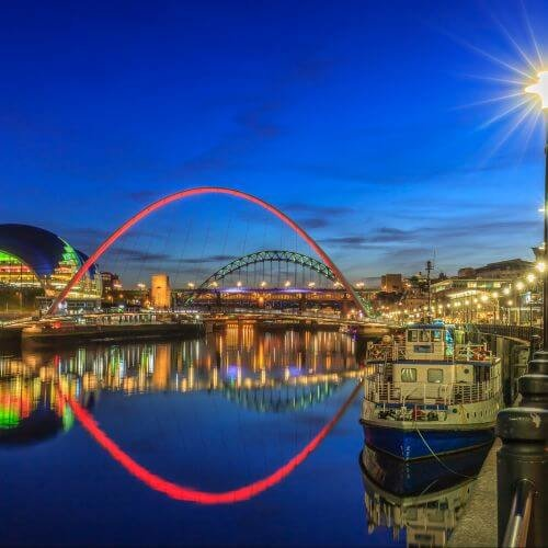 Newcastle  Package Destinations