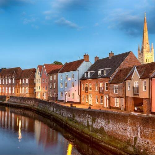 Norwich  Package Destinations