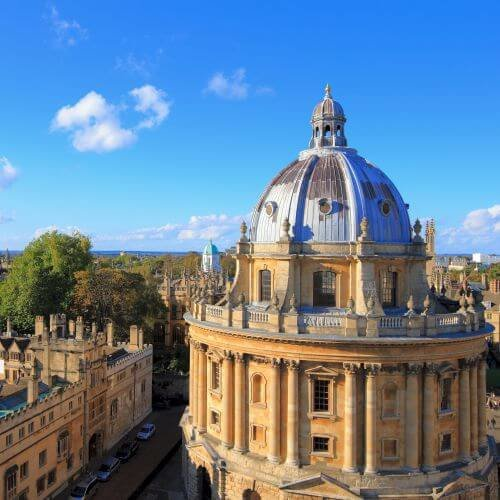 Oxford Hen Package Destinations