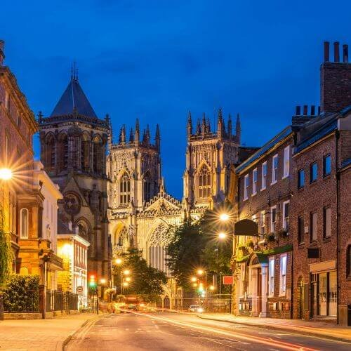 York Hen Package Destinations