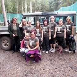 Edinburgh Hen Activities 4x4 Off Road