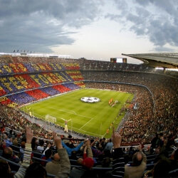 Barcelona Stag Activities Football Tickets