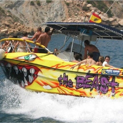 Benidorm Stag Activities Speed Boat Ride