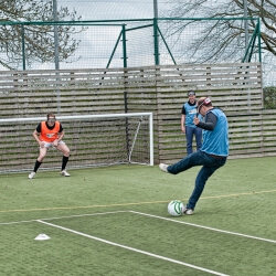 London Birthday Activities Beer Goggle Football
