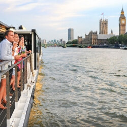 London Party Activities Boat Cruise