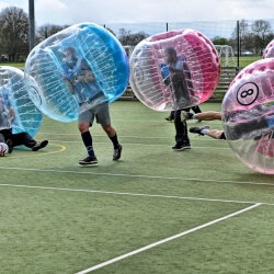 Budapest Party Activities Bubble Football