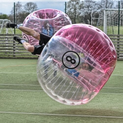 Leeds Party Activities Bubble Football