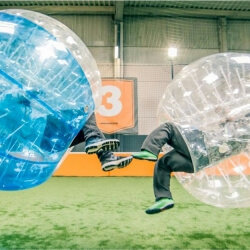 Liverpool Stag Activities Bubble Football