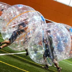 London Birthday Activities Bubble Football