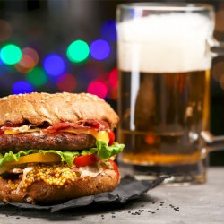 Leicester Birthday Activities Burger and Beer