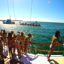 Barcelona Party Activities Catamaran Cruise