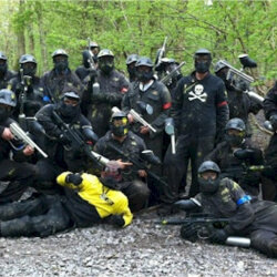 Liverpool Stag Activities Delta Force Paintball