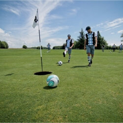 London Birthday Activities Foot Golf