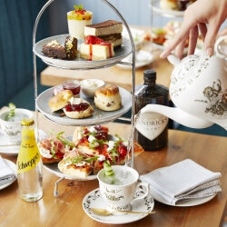 London Birthday Activities Gin Afternoon Tea