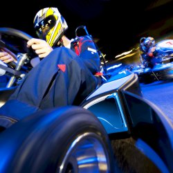 Budapest Party Activities Go Karting Indoor