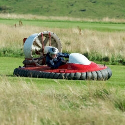 Edinburgh Stag Activities Hovercrafting