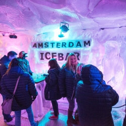 Amsterdam Party Activities Ice Bar