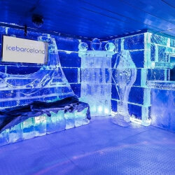 Barcelona Party Activities Ice Bar