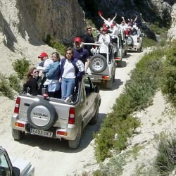 Benidorm Party Activities Jeep Safari