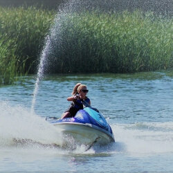 Hen Activities Jet Skiing