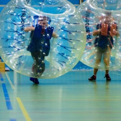 Berlin Stag Activities Bubble Football