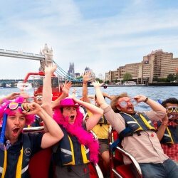 London Birthday Activities Powerboat Thriller
