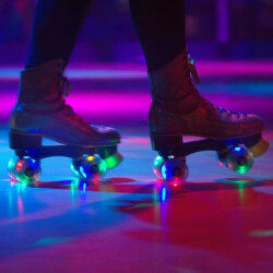 Hen Activities Roller Disco