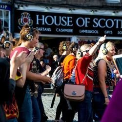 Edinburgh Hen Activities Silent Disco Tour